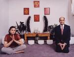 Meena Pathak; Kirit Pathak, by Tom Miller, 21 December 2001 - NPG  - © National Portrait Gallery, London