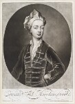 Edward Montagu, Viscount Hinchingbrooke, by and published by John Smith, after  Sir Godfrey Kneller, Bt, 1701 (1700) - NPG  - © National Portrait Gallery, London
