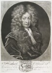 Sir Robert Cotton, 1st Bt, by John Smith, after  Thomas Gibson, 1706 - NPG  - © National Portrait Gallery, London