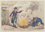 'The Crown and Anchor libel, burnt by the public hangman', by James Gillray, published by  Hannah Humphrey, published 28 November 1795 - NPG  - © National Portrait Gallery, London