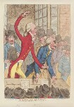 'A Hackney meeting', by James Gillray, published by  Hannah Humphrey, published 1 February 1796 - NPG  - © National Portrait Gallery, London