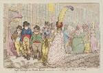 'High-change in Bond Street, - ou - la politesse du grande monde', by James Gillray, published by  Hannah Humphrey, published 27 March 1796 - NPG  - © National Portrait Gallery, London