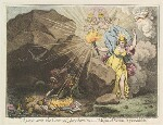 'A peep into the cave of Jacobinism', by James Gillray, published by  John Wright, published 1 September 1798 - NPG  - © National Portrait Gallery, London