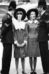 Melanie Hampshire; Jill Kennington, by Norman Parkinson, 1963 - NPG  - © Norman Parkinson Archive