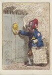 'The Daily-Advertiser' (William Pitt; Charles James Fox), by James Gillray, published by  Hannah Humphrey, published 23 January 1797 - NPG  - © National Portrait Gallery, London