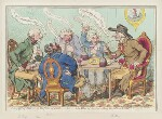 ''The feast of reason, and the flow of soul,' - ie - the wits of the age, setting the table in a roar', by James Gillray, published by  Hannah Humphrey, published 4 February 1797 - NPG  - © National Portrait Gallery, London