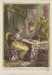 'Contemplations upon a coronet', by James Gillray, published by  Hannah Humphrey, published 20 March 1797 - NPG  - © National Portrait Gallery, London