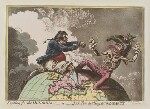 Napoléon Bonaparte ('Fighting for the dunghill: - or - Jack Tar settling Buonaparte'), by James Gillray, published by  Hannah Humphrey, published 20 November 1798 - NPG  - © National Portrait Gallery, London