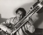 Ravi Shankar, by Ida Kar, 1960s - NPG  - © National Portrait Gallery, London