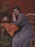 Olive Edis, by Sarah Jane Dugdale (née Hartland), early 1900s - NPG  - © National Portrait Gallery, London