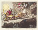 'Light expelling darkness, - evaporation of stygian exhalations, - or - the sun of the constitution, rising superior to the clouds of opposition', by James Gillray, published by  Hannah Humphrey, published 30 April 1795 - NPG  - © National Portrait Gallery, London