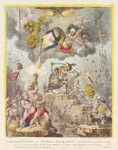 storming Heaven; - with, the gods alarmed for their everlasting-abodes', by James Gillray, published by  Hannah Humphrey, published 1 May 1804 - NPG  - © National Portrait Gallery, London