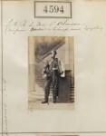 Ferdinand Philippe Marie d'Orléans, Duke of Alençon, by Camille Silvy, 26 June 1861 - NPG  - © National Portrait Gallery, London