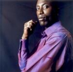 Ozwald Boateng, by Sal Idriss, 2002 - NPG  - © Sal Idriss / National Portrait Gallery, London