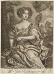 Catherine Sedley, Countess of Dorchester, published by Richard Tompson, after  Sir Peter Lely, 1678-1679 - NPG  - © National Portrait Gallery, London