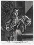 Charles Lennox, 1st Duke of Richmond and Lennox, published by Richard Tompson, after  Cornelis de Bruyn, 1678-1679 - NPG  - © National Portrait Gallery, London
