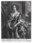Queen Mary II when Princess of Orange, published by Richard Tompson, after  Sir Peter Lely, 1678-1679 - NPG  - © National Portrait Gallery, London