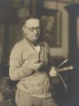 Alfred Aaron Wolmark, by Walter Benington, 1920s - NPG  - © National Portrait Gallery, London