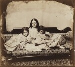 Edith Mary Liddell; Ina Liddell; Alice Liddell, by Lewis Carroll (Charles Lutwidge Dodgson), Summer 1858 - NPG  - © National Portrait Gallery, London and the National Media Museum (part of the Science Museum Group, London)