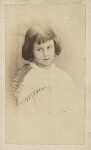 Alice Liddell, by Lewis Carroll (Charles Lutwidge Dodgson), July 1860 - NPG  - © National Portrait Gallery, London and the National Media Museum (part of the Science Museum Group, London)