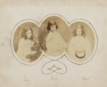 Ina Liddell; Alice Liddell; Edith Mary Liddell, by Lewis Carroll (Charles Lutwidge Dodgson), 1858-1860 - NPG  - © National Portrait Gallery, London and the National Media Museum (part of the Science Museum Group, London)