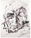 John Berger, by Maggi Hambling, 2000 - NPG  - © National Portrait Gallery, London