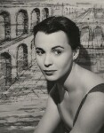 Claire Bloom, by Paul Tanqueray, 1956 - NPG  - © estate of Paul Tanqueray