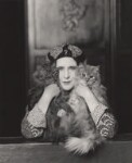 Elinor Glyn, by Paul Tanqueray, 1931 - NPG  - © estate of Paul Tanqueray