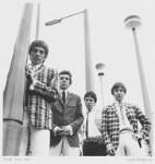 The Small Faces (Steve Marriott; Ronnie ('Plonk') Lane; Jimmy Winston (Jimmy Langwith); Kenny Jones), by David Wedgbury, 1965 - NPG  - © National Portrait Gallery, London