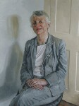 Onora Sylvia O'Neill, Baroness O'Neill of Bengarve, by Victoria Kate Russell, 2004 - NPG  - © National Portrait Gallery, London