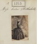 Evelina de Rothschild, by Camille Silvy, 1860 - NPG  - © National Portrait Gallery, London