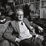 (Alfred) Charles Tomlinson, by Norman McBeath, 22 May 2003 - NPG  - © Norman McBeath / National Portrait Gallery, London