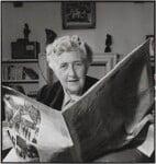 Agatha Christie, by John Gay, published February 1949 - NPG  - © National Portrait Gallery, London
