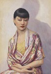 Anna May Wong, by Dorothy Wilding, hand-coloured by  Beatrice Johnson, 1929 - NPG  - © William Hustler and Georgina Hustler / National Portrait Gallery, London