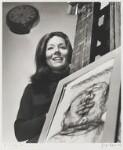 Diana Rigg, by Jorge ('J.S.') Lewinski, September 1966 - NPG  - © National Portrait Gallery, London