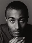 Colin Jackson, by Trevor Leighton, 10 February 1994 - NPG  - © Trevor Leighton / National Portrait Gallery, London