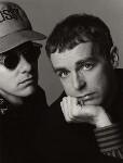 Pet Shop Boys (Chris Lowe; Neil Tennant), by Trevor Leighton, 19 November 1990 - NPG  - © Trevor Leighton / National Portrait Gallery, London