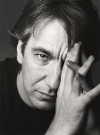 Alan Rickman, by Trevor Leighton, 24 January 1992 - NPG  - © Trevor Leighton / National Portrait Gallery, London