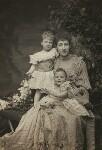 Princess Alexandra, Princess Arthur of Connaught; Princess Louise, Duchess of Fife; Princess Maud, Countess of Southesk, by Alice Hughes, 1894 - NPG  - © National Portrait Gallery, London