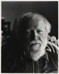 William Golding, by Paul Joyce, May 1977 - NPG  - © Paul Joyce / National Portrait Gallery, London