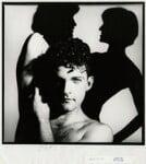 Mark William Morris, by Chris Garnham, January 1986 - NPG  - © estate of Chris Garnham / National Portrait Gallery, London