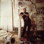 Daniel Mafé, by Chris Garnham, February 1988 - NPG  - © estate of Chris Garnham / National Portrait Gallery, London