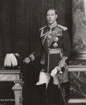 King George VI, by Bertram Park, 15 March 1938 - NPG  - © estate of Bertram Park / National Portrait Gallery, London