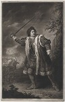 David Garrick as Richard III, by John Dixon, published 1772 - NPG  - © National Portrait Gallery, London