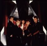 Duran Duran (John Taylor; Nick Rhodes; Andy Taylor; Roger Taylor; Simon Le Bon), by Mike Owen, 1984 - NPG  - © Mike Owen / National Portrait Gallery, London