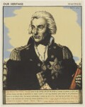 Horatio Nelson, by Robert Sargent Austin, printed by  The Baynard Press, after  Lemuel Francis Abbott, published 1943 - NPG  - © reserved; collection National Portrait Gallery, London