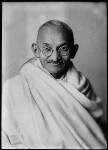 Mahatma Gandhi, by Elliott & Fry, 1931 - NPG  - © National Portrait Gallery, London