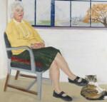 Jan Morris, by Arturo Di Stefano, 2004-2005 - NPG  - © National Portrait Gallery, London