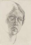 Dora Carrington, by Dora Carrington, circa 1910 - NPG  - © National Portrait Gallery, London