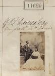 James Pinson Labulo Davies; Sarah Forbes Bonetta (Sarah Davies), by Camille Silvy, 15 September 1862 - NPG  - © National Portrait Gallery, London